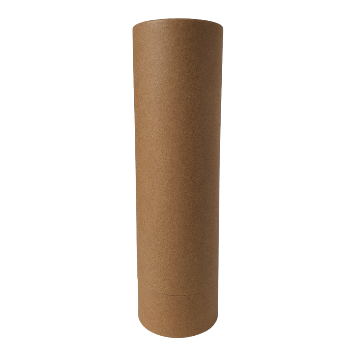 75 mm (d) x 260 mm (h) brown diffuser style cardboard tube