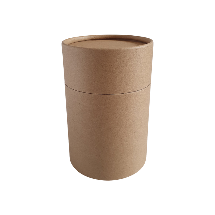 83 x 112 mm brown Kraft multipurpose cardboard tube with slip lid