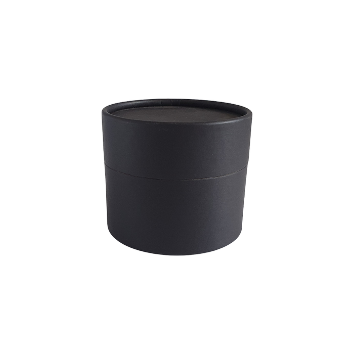 83 x 56 mm black multipurpose cardboard tube with slip lid