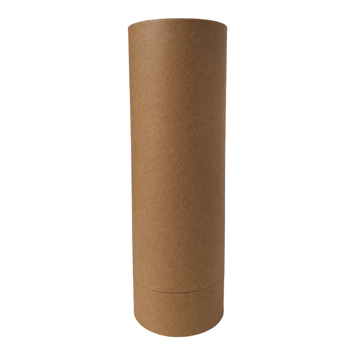 85 mm (d) x 260 mm (h) brown diffuser style cardboard tube