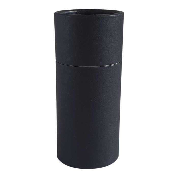 Large black push-up cardboard tube
