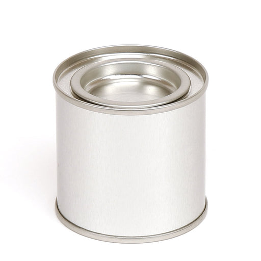 Round paint pot style tin - T0664