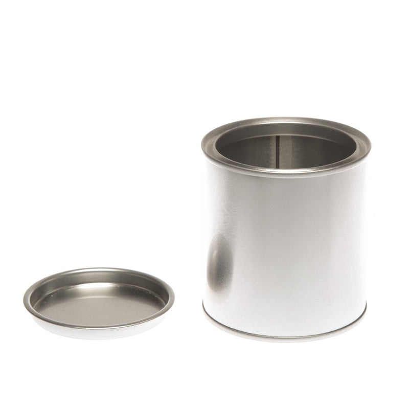 Round paint pot style tin - T0668