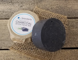 Activated Charcoal Detox Facial Bar Hand Poured Soap