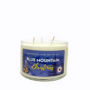 Blue Mountain Christmas- 3 wick