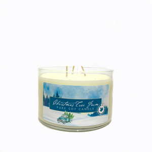 Christmas Tree Farm - 3 Wick