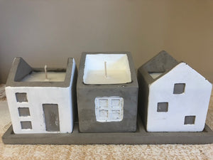 Houses-Set of 3