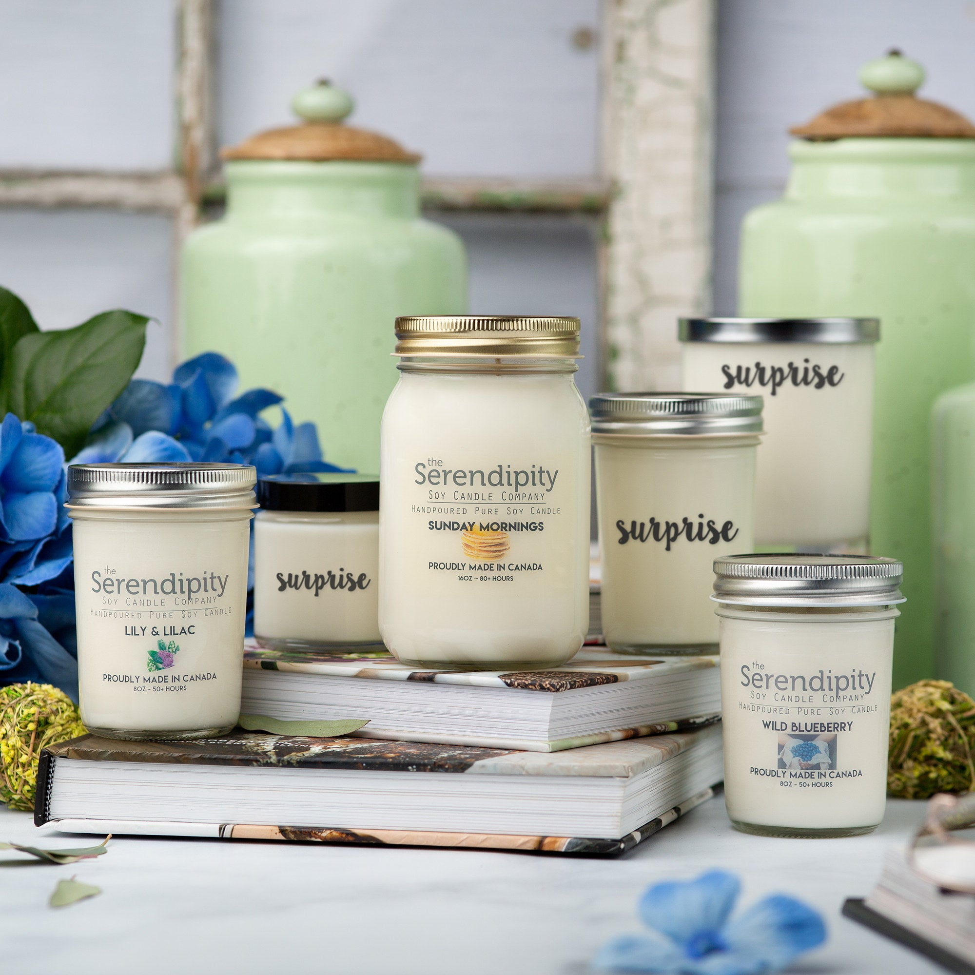 SPRING INTO SUMMER Candle Box