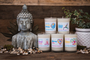 Collection de bougies Yoga Life