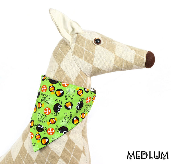 Trick Or Treat Spiders Pet Bandana