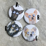 Chihuahua Lover Magnets