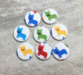 Colorful French Bulldog Magnets