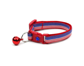 Flag Stripes Cat Collar