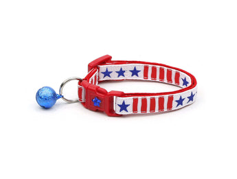Stars & Stripes Cat Collar