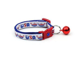 USA Pride Cat Collar