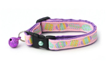 Egg Hunt on Pink Cat Collar