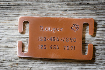 "Tag for 3/4"" or 1"" Collar Custom Dog Tag"