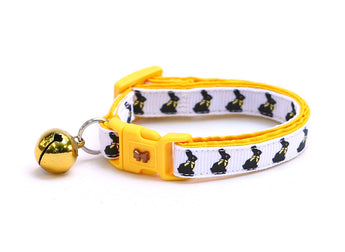 Chocolate Easter Bunnies Cat Collar
