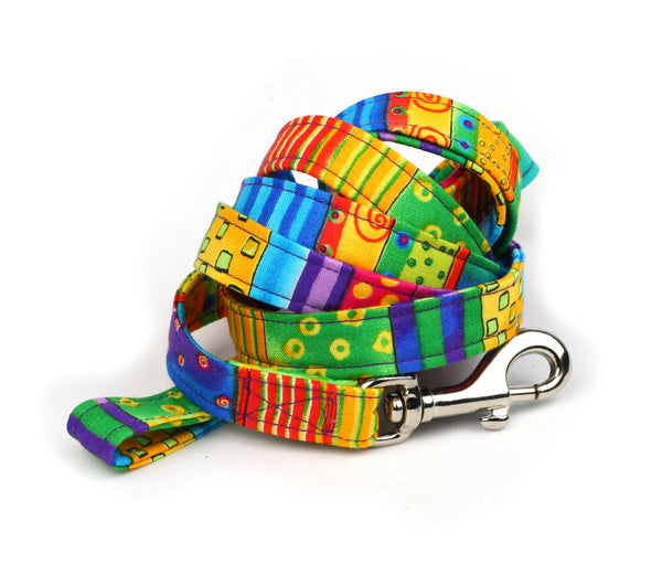 Happy Go Lucky Stripe Leash