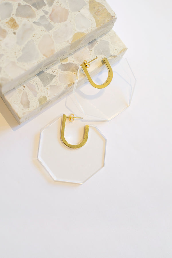 Karyn Octagon Hoops