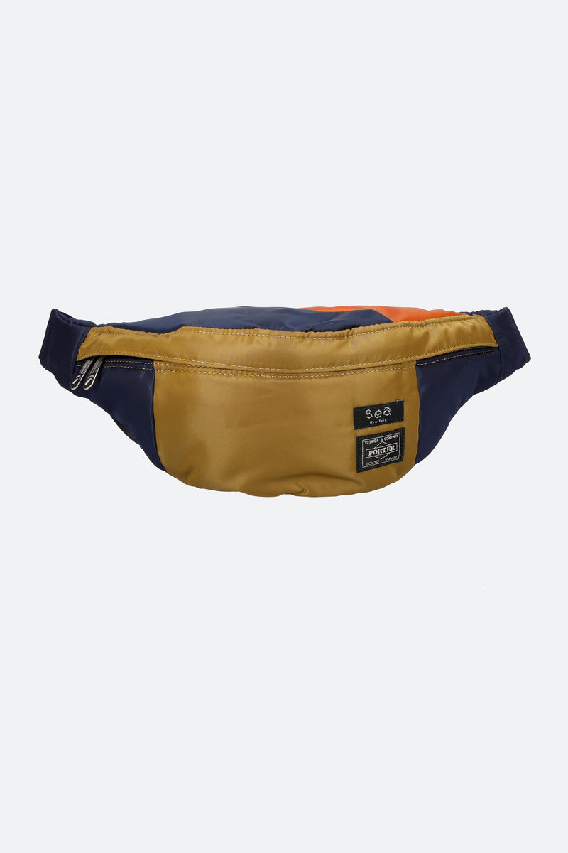 Navy-324 Belt Bag-Front View 1