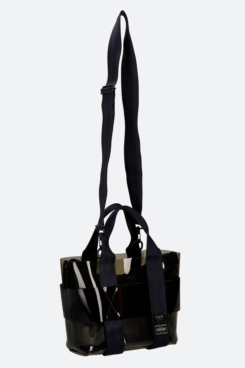Black-Mini Tote-Strap View 4