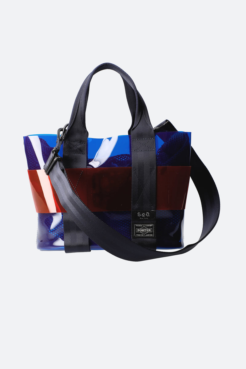 Blue-Mini Tote-Front View 5