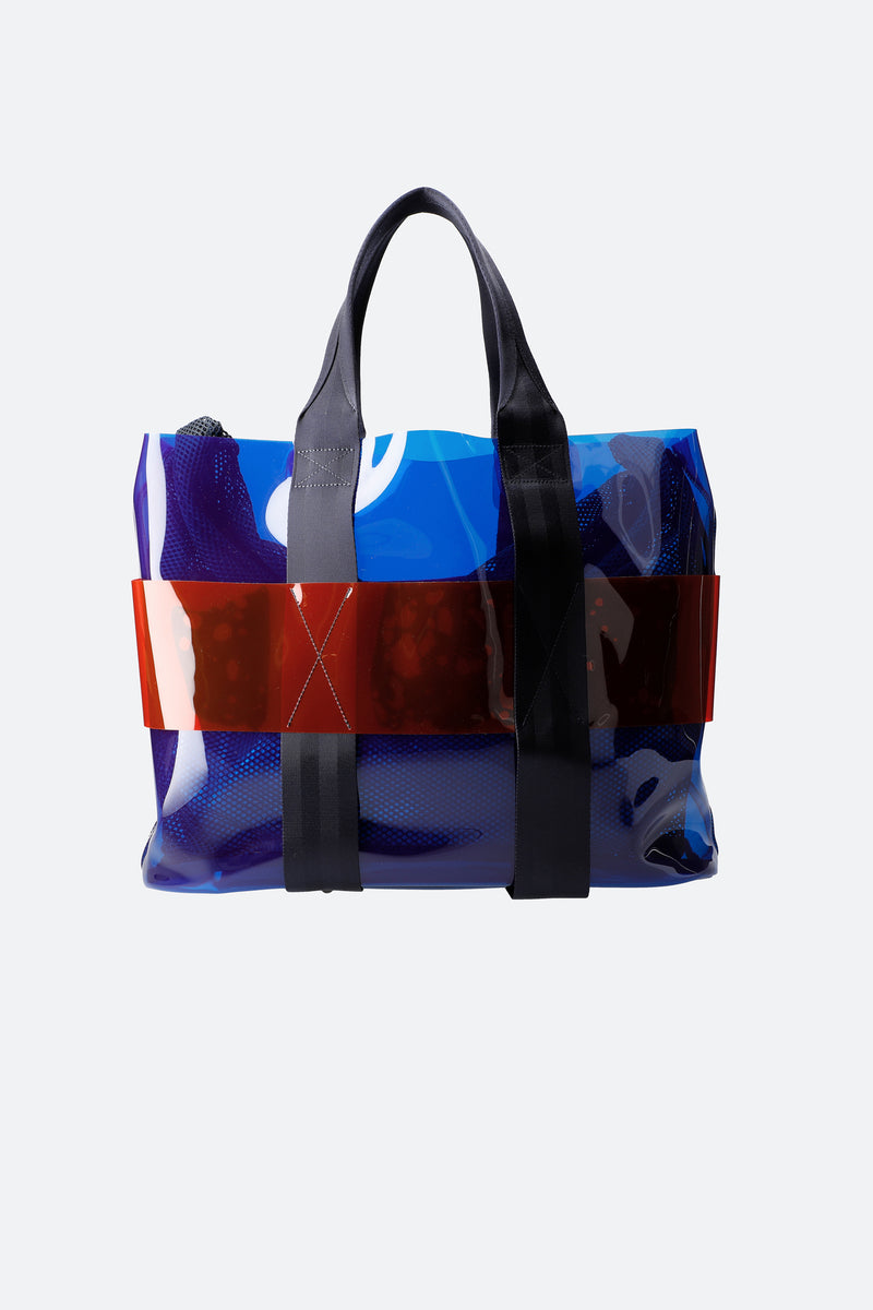 Blue-Monica Tote-Back View 6