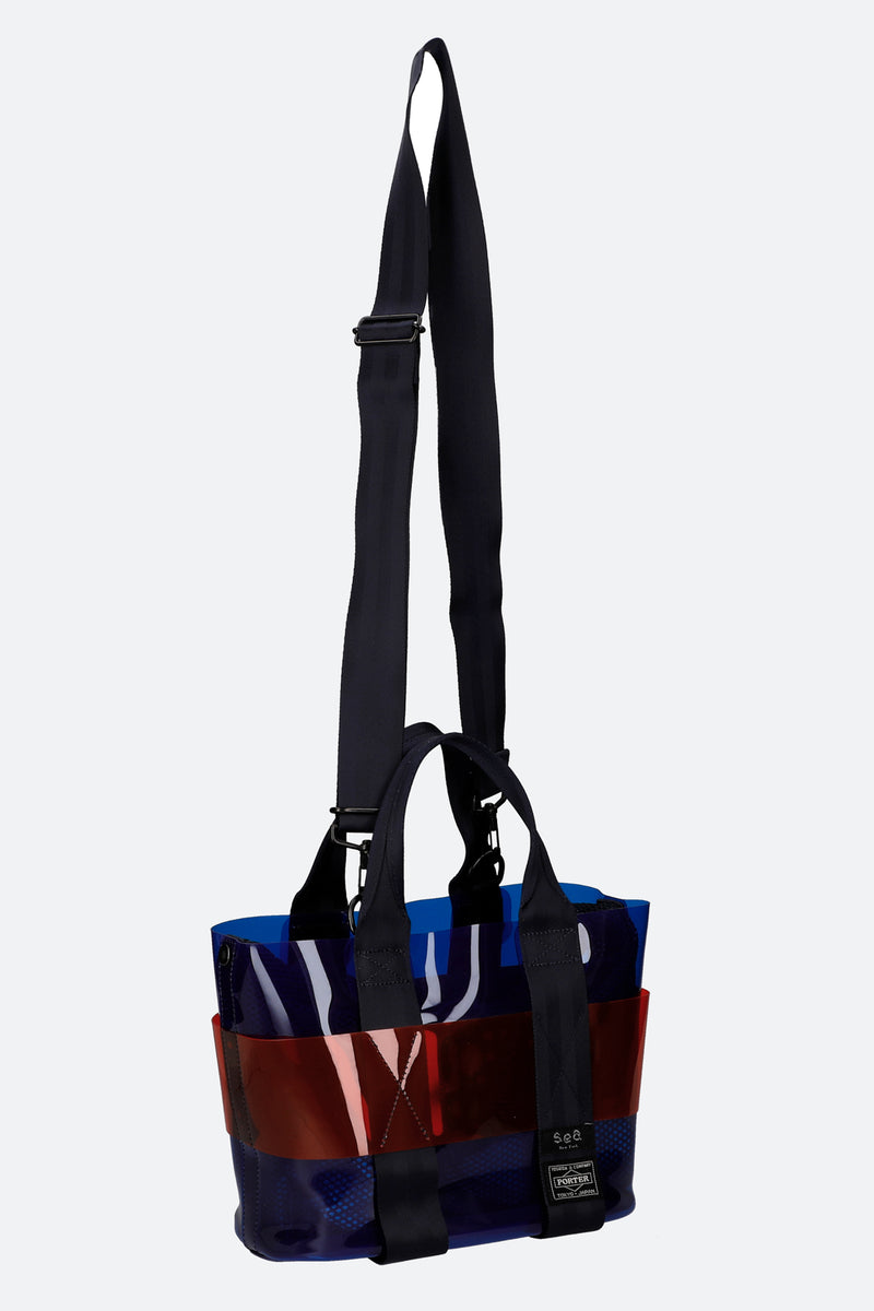 Blue-Mini Tote-Strap View 8