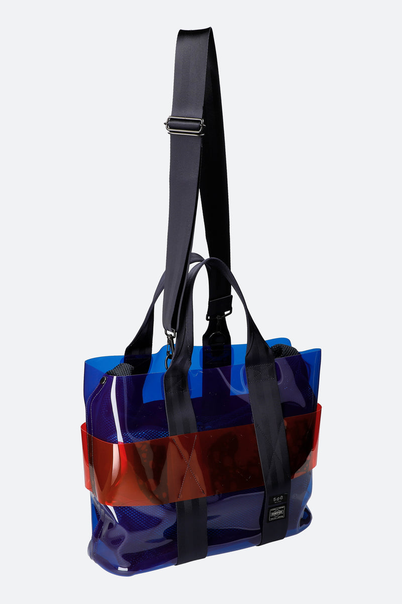 Blue-Monica Tote-Strap View 8