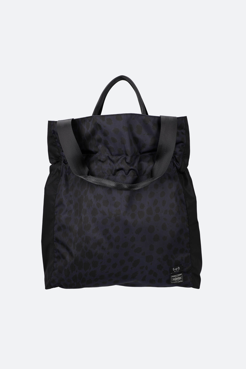 Leopard-Mainichi Tote-Front View 1