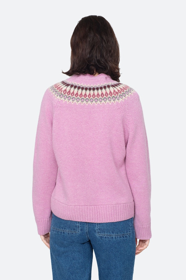 Brie Fairisle Sweater