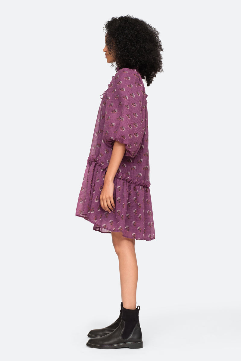 Purple-Alexis Tunic-Side View 6