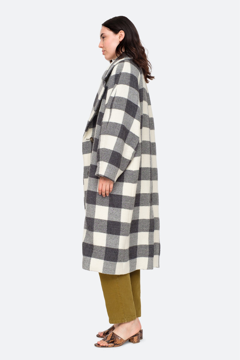 Grey-Clement Coat-Side View 7