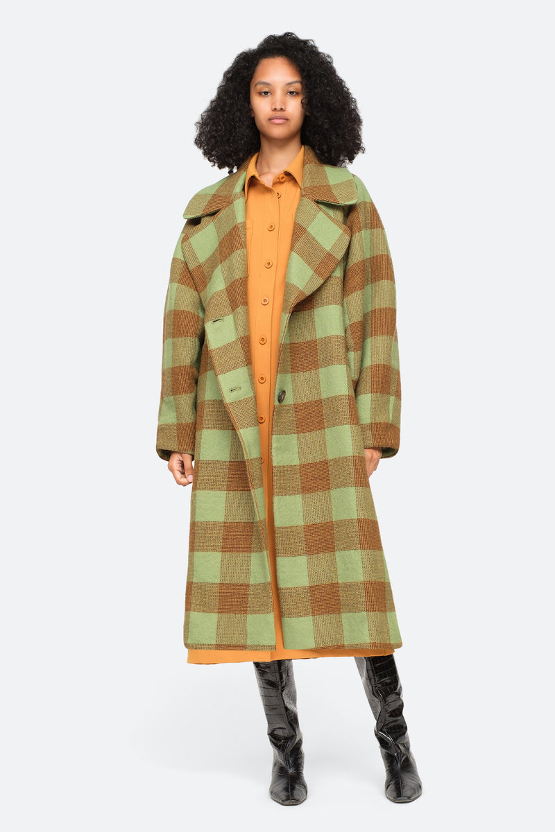 Apple-Clement Coat-Front View 1