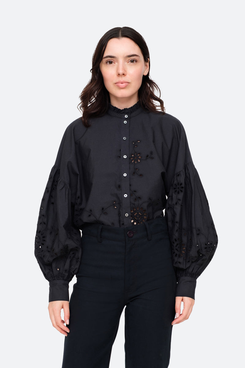 Black-Fern Shirt-Front View 1