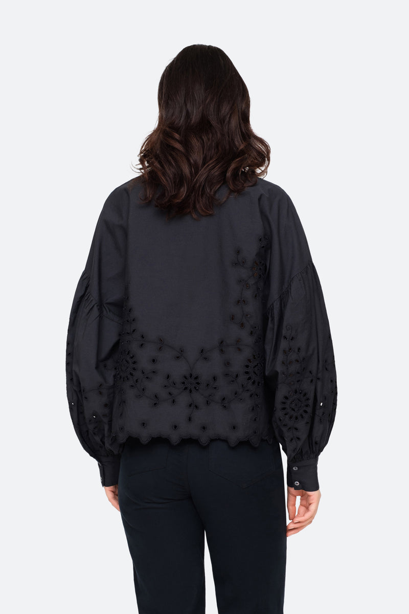 Black-Fern Shirt-Back View 2