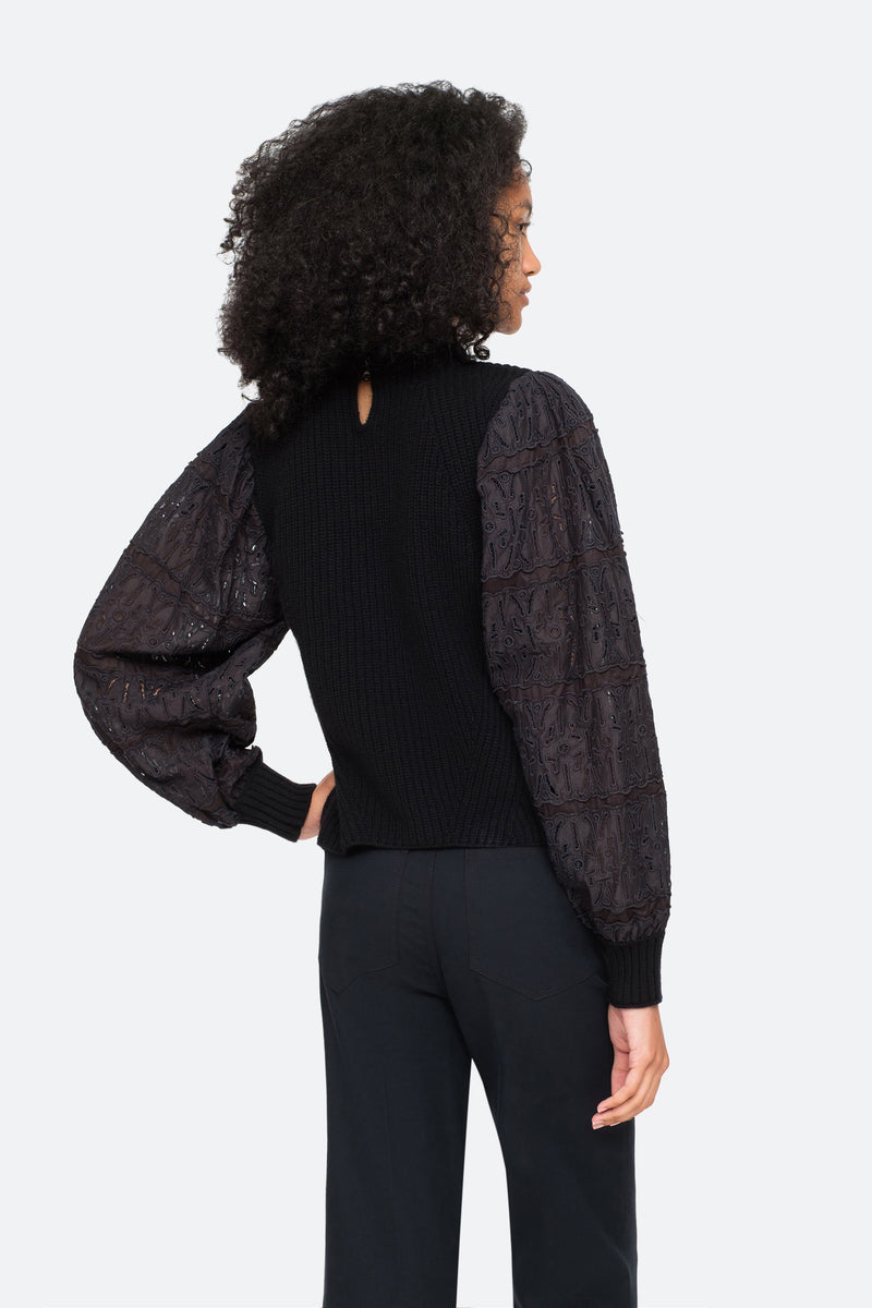 Black-Iris Sweater-Back View 7