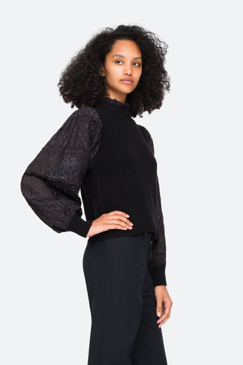 Black-Iris Sweater-Side View 8