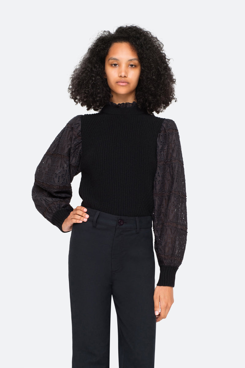 Black-Iris Sweater-Tucked In View 9