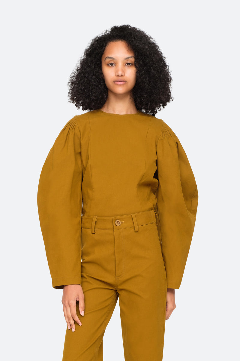 Artichoke-Marianne L/S Top-Tucked In View 5