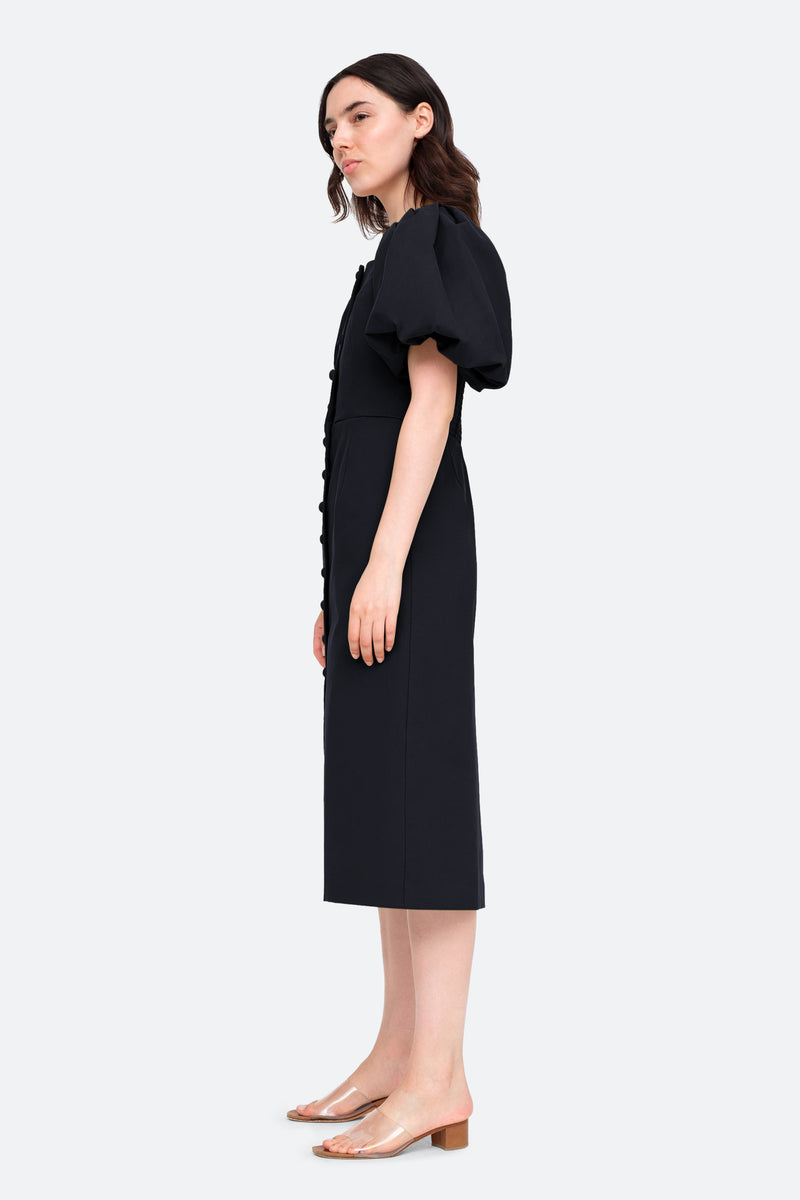 Black-Marianne Dress-Side View 3