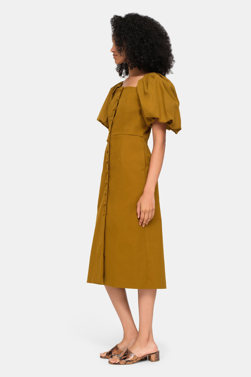 Artichoke-Marianne Dress-Side View 7