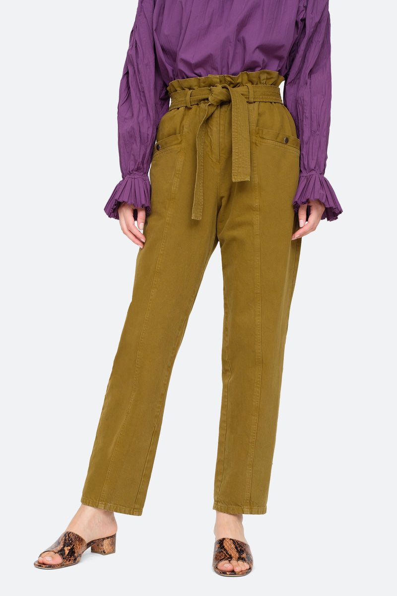 Olive-Metta Pants-Front View 1