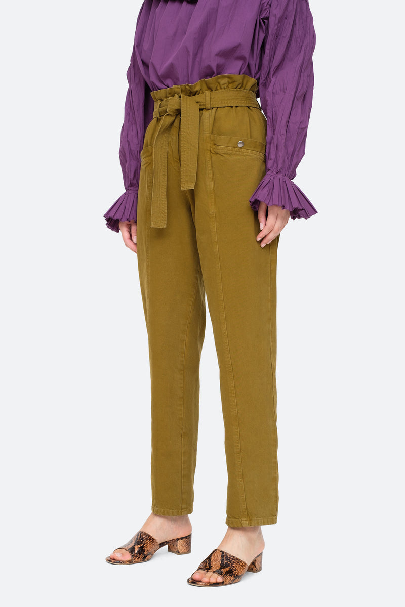 Olive-Metta Pants-Side View 4