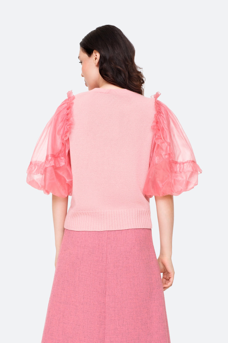 Pink-Nuria Sweater-Tucked Out Back View 6
