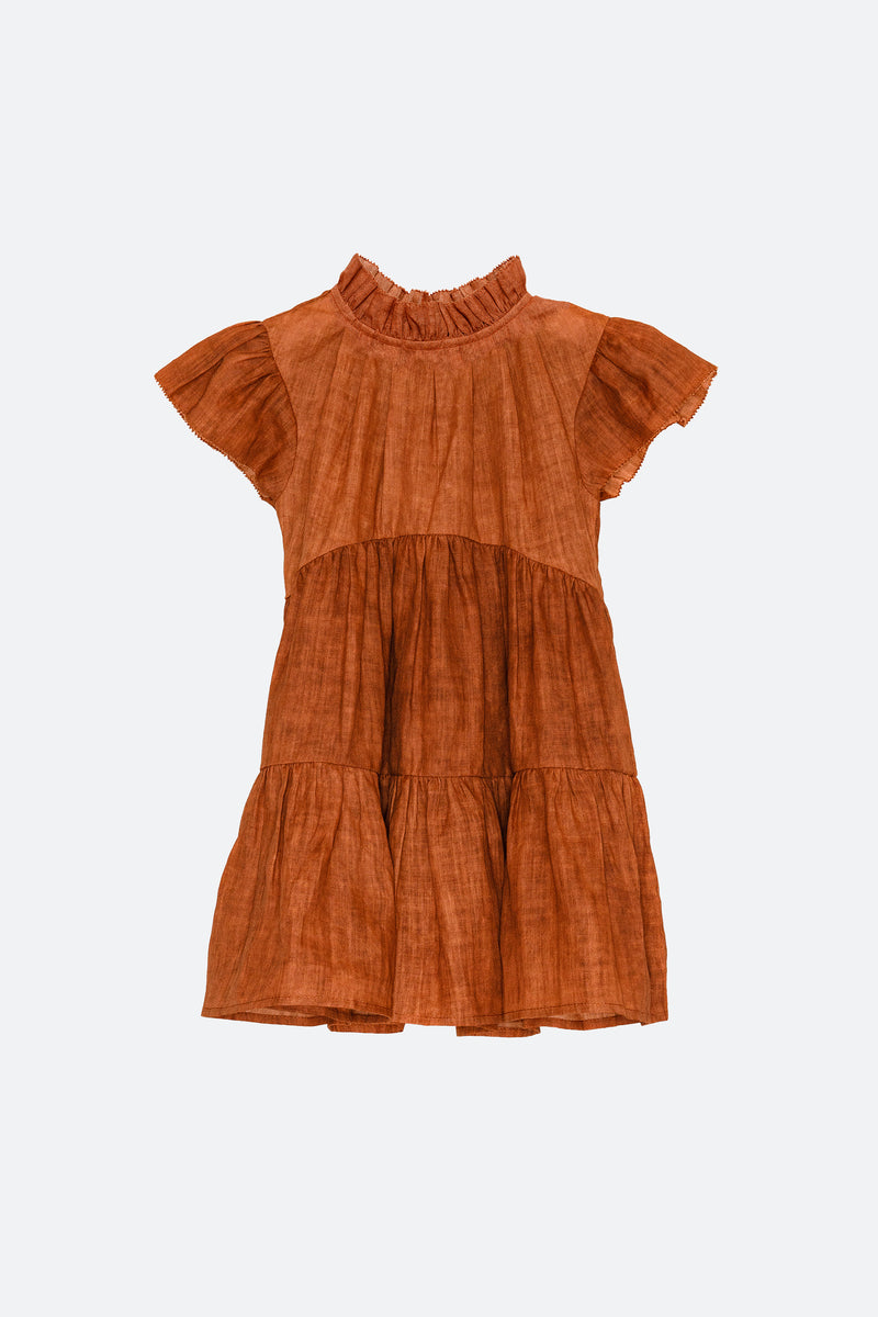 Redwood-Yara Tiered Dress-Front View 2