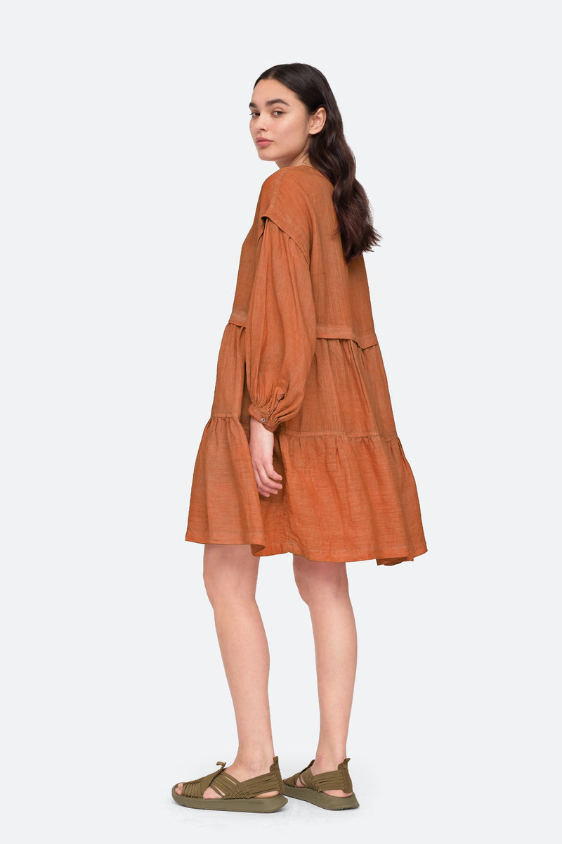 Redwood - Yara Dress Side View 2