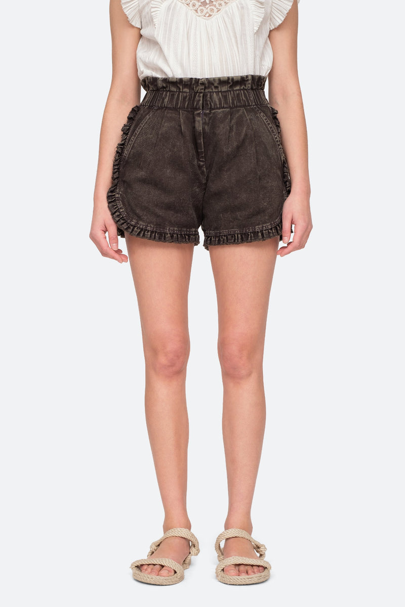 Graphite - Idun Shorts Front View 9
