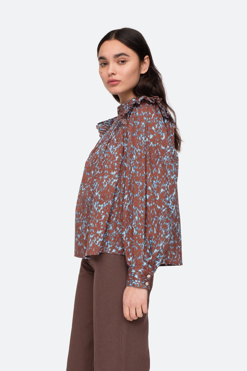 Sienna - Celine Blouse Side View 7
